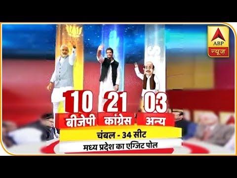 ABP Exit Poll: MP के चंबल से कांग्रेस के लिए खुशी की खबर, 34 में से 21 सीटों पर जीत की उम्मीद