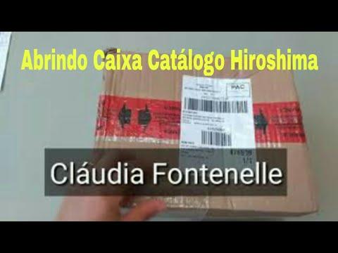 5cbb4c080 Abertura de caixa Hiroshima - Comprinhas do catálogo Hiroshima ...