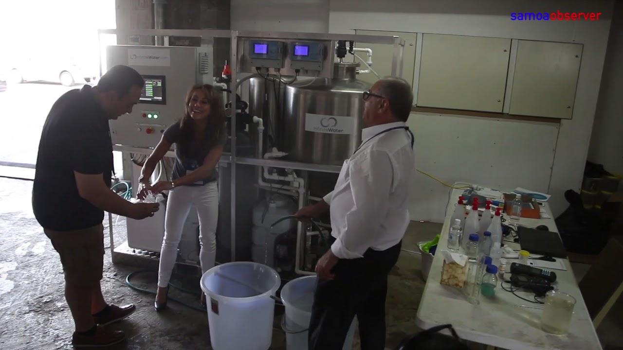 Company offers water solution - Dauer: 64 Sekunden