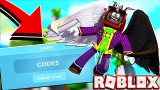 Codes For Roblox Wing Simulator