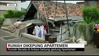 Penampakan Rumah Tua yang Dikepung Apartemen Mewah