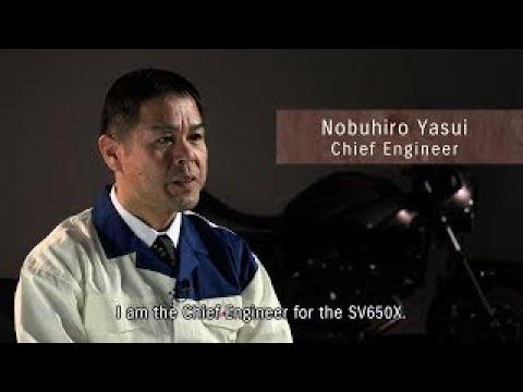 SV650X Development Team Member Interview Chief Engineer