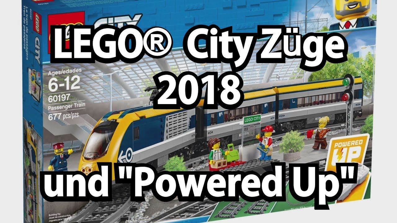 Lego Züge 2018 Und Neue Power Functions Powered Up Youtube
