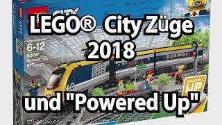 """LEGO Züge 2018 und neue Power Functions (""""Powered Up"""")"""