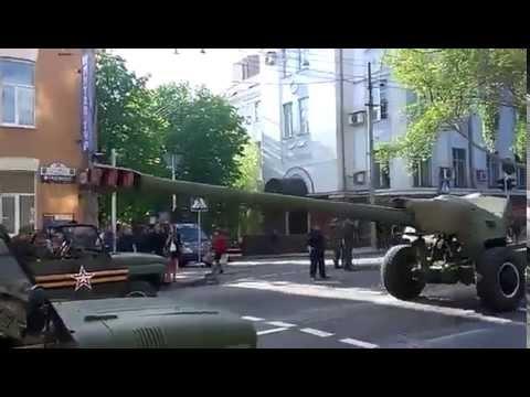 GRAD's  SA-13  heavy artillery  DPR vehicles all over Donetsk today