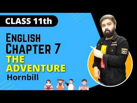 the adventure class 11 in hindi and english