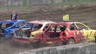 2018 BROOKLIN DEMO DERBY FIGURE 8 FEATURE AND GRUDGE