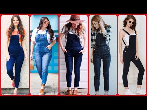 Amazingly Classy Jumpsuit Dresses / Dungaree Dress Outfit For Girl To Try On 2019/teenager Rompers
