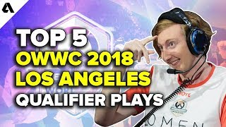 Top 5 Overwatch World Cup Los Angeles Qualifier Plays | OWWC 2018