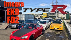 SO MANY HONDAS for sale in Japan!
