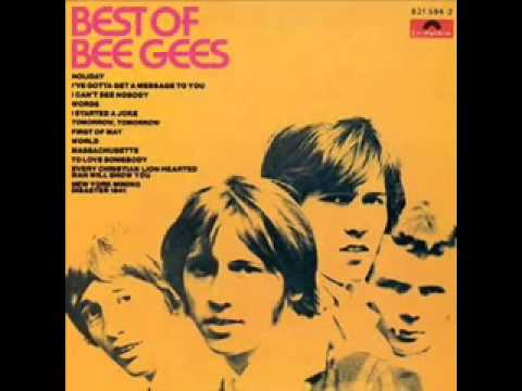 12. The Bee Gees - I Can't See Nobody