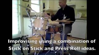 Steve Smith Drumset Tutorial: Stick On Stick & Press Rolls
