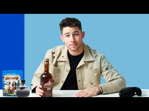 10 Things Nick Jonas Can't Live Without | GQ