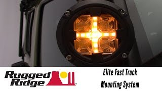 In the Garage™ with Performance Corner®: Rugged Ridge Elite Fast Track Mounting System