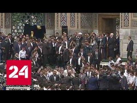После похорон Каримова Медведев встретился с Мирзиеевым