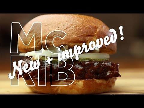 McKiddy - How To Make A McDonald's McRib At Home!