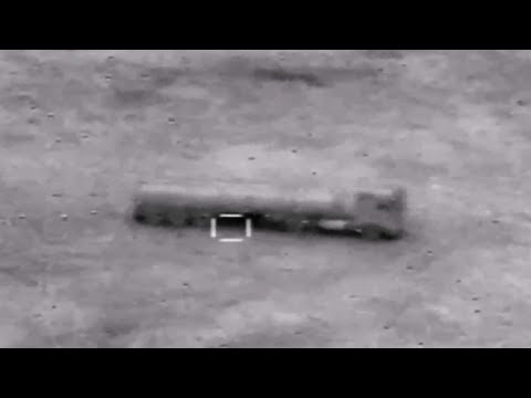 LiveLeak - Newly Released Footage of Iraqi Air Strikes on ISIS Positions