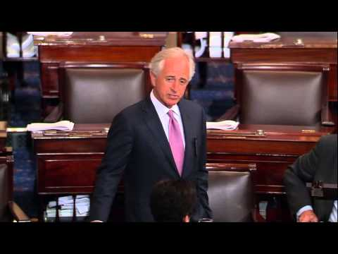 Corker Delivers Remarks on Senate Floor Honoring the Life of Howard Baker