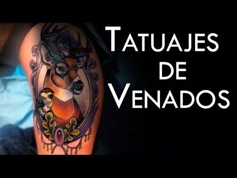 Tatuajes De Venados Y Su Significado Youtube