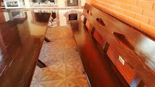 мебель в баню темная