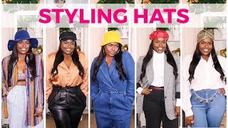 HOW TO STYLE HATS (FALL & WINTER)