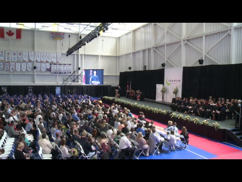 Camosun College Graduation Ceremony June 16th Morning
