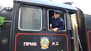 """На железнодорожный вокзал Саратова прибыл """"Воинский эшелон"""""""