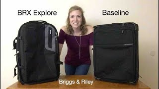 Briggs & Riley Carry-Ons: BRX Explore vs Baseline Review
