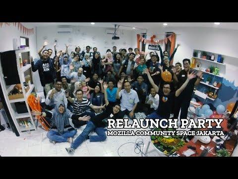 Relaunch Party - Mozilla Community Space Jakarta