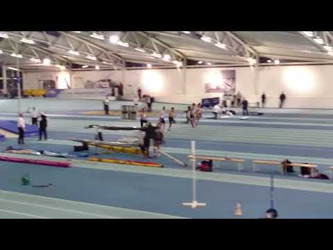 Anton running 60m in The London Games Athletics competition