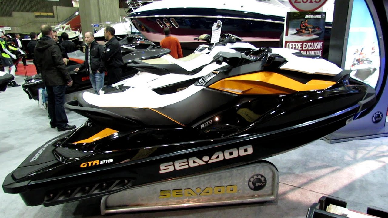 2013 sea doo gtr 215 ultra performance jet ski walkaround 2013 montreal boat show youtube. Black Bedroom Furniture Sets. Home Design Ideas