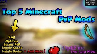 Top 5 Minecraft PvP Mods For 1.8.9 / 1.8 ✅ 1.7.10 Animations | Better PvP | Optifine | &More ✅