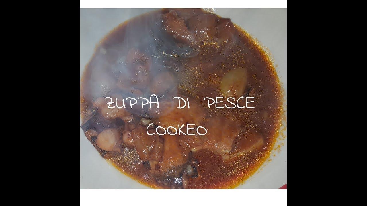 Zuppa Di Pesce Cookeo Youtube