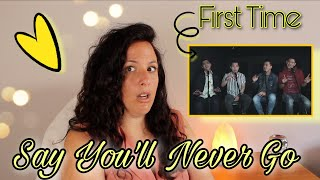 First Time Reacting To  Erik Santos with Jay R, Jason Dy & Daryl Ong   Say You'll Never Go REACTION