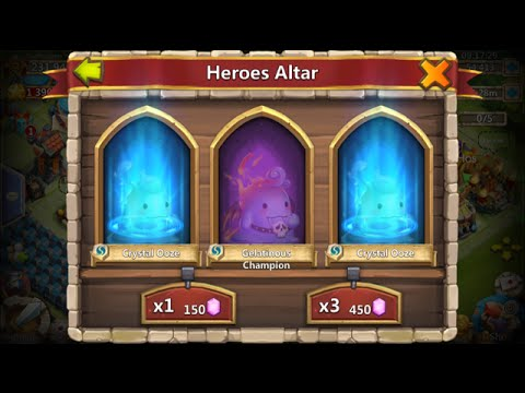 12 Lucky Flips For Arctica Rolling 23000 Gems For Ghoulem Castle Clash