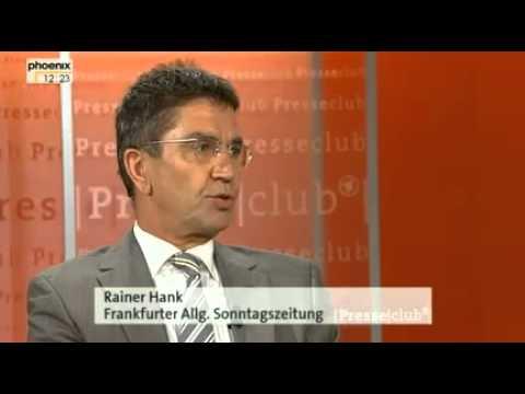 Kredite ohne Ende, Gefahr für Geld und Rente? Presseclub vom 05.08.2012