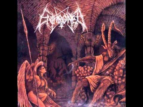 Enthroned - The Antichrist Summons the Black Flame (With Lyrics)