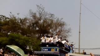 Pawai Persib Juara Piala Presiden