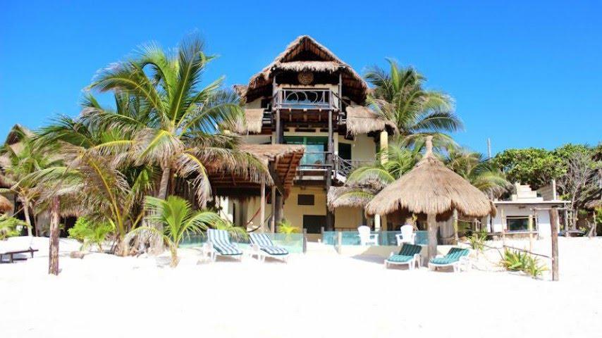 hotel kiras beach house en tulum youtube. Black Bedroom Furniture Sets. Home Design Ideas