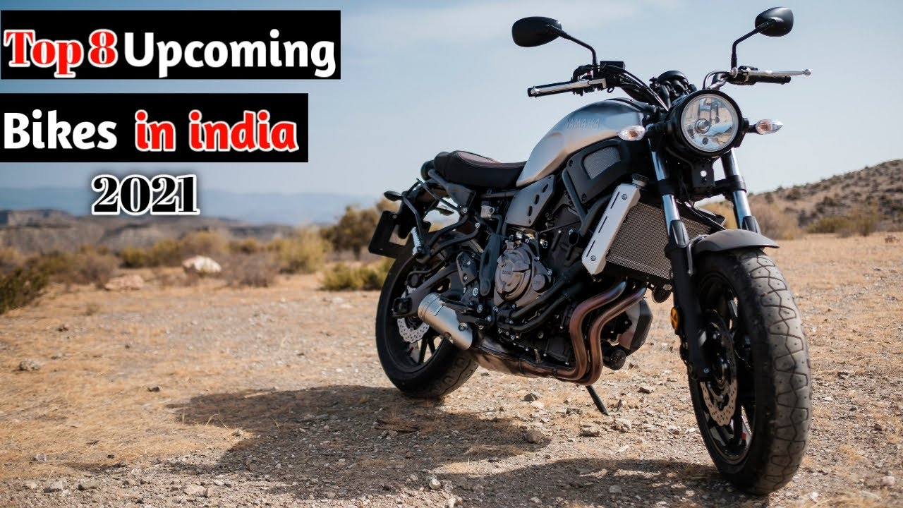 Top 8 Upcoming Bikes in India 2021  Launch confirmed