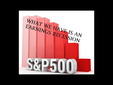 "What We Have is an ""Earnings Recession"" Casey Boland: 06.07.2016."