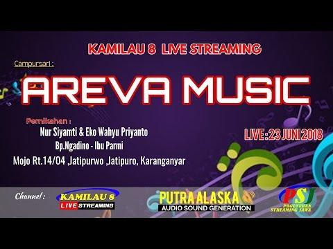 KAMILAU 8 LIVE MOJO JATIPURO, //CS AREVA  MUSIC//PUTRA ALASKA SOUND