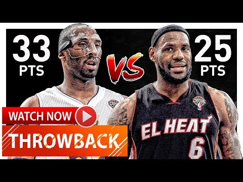 Throwback: Kobe Bryant vs LeBron James EPIC Duel Highlights (2012.03.04) Lakers vs Heat - MUST SEE!