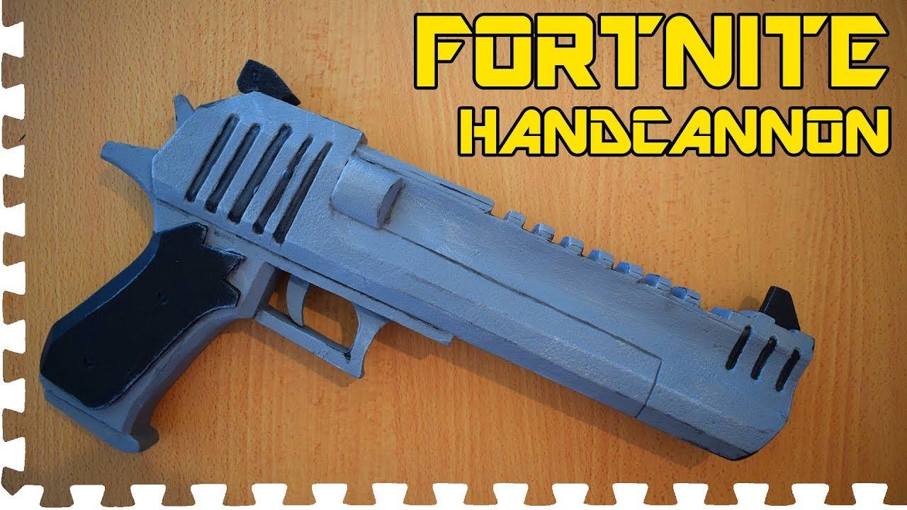 fortnite hand cannon cosplay prop - fortnite desert eagle nerf gun