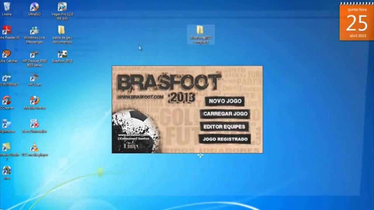 o jogo brasfoot 2013 completo