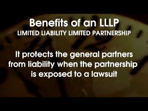 Limited Liability Limited Partnership -- 60 Second Business Tip