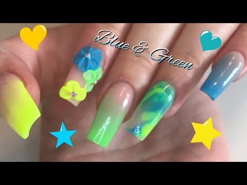 I started a craze | Full nail tutorial | 3D flower nail thumbnail