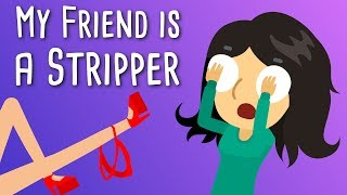 My Friend is a Stripper | First Pole Dance Recital | Animated Story Time | Anti-Social Snacker