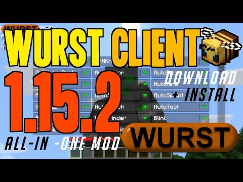 How To Get Wurst Client For Minecraft 1.15.2 - Download & Install Wurst 1.15.2 (on Windows)