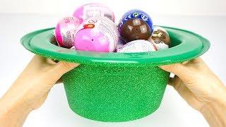 Іграшки та сюрпризи з чарівної капелюхи Игрушкин ТБ